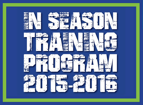 2015-2016 In Season Training Program