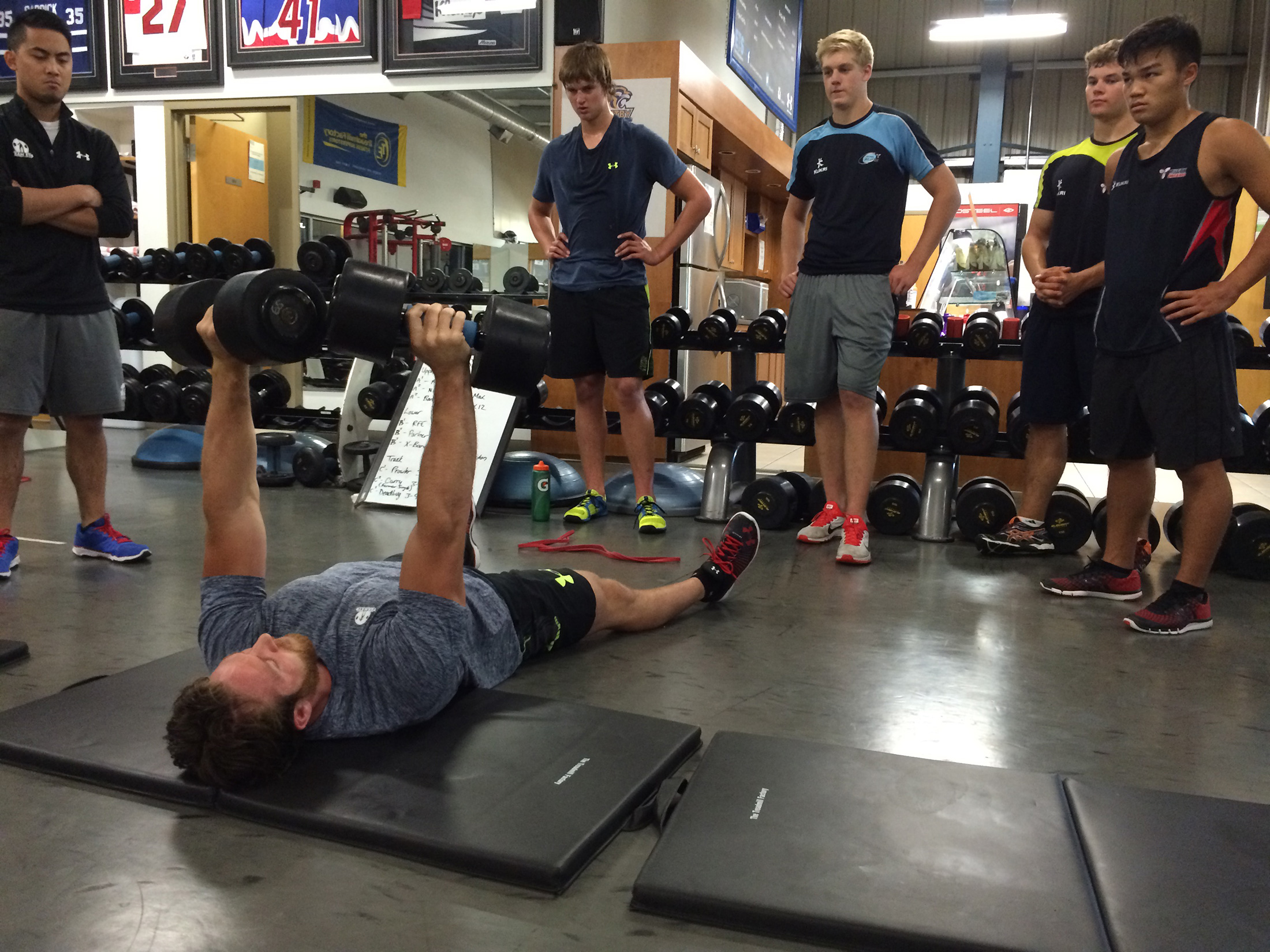 Performance---Team-Training---Rugby-Ontario---Demo-Db-Floor-Press-Harrison